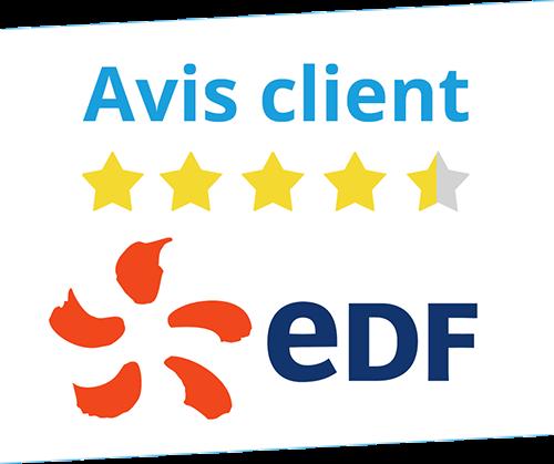 Avis client EDF