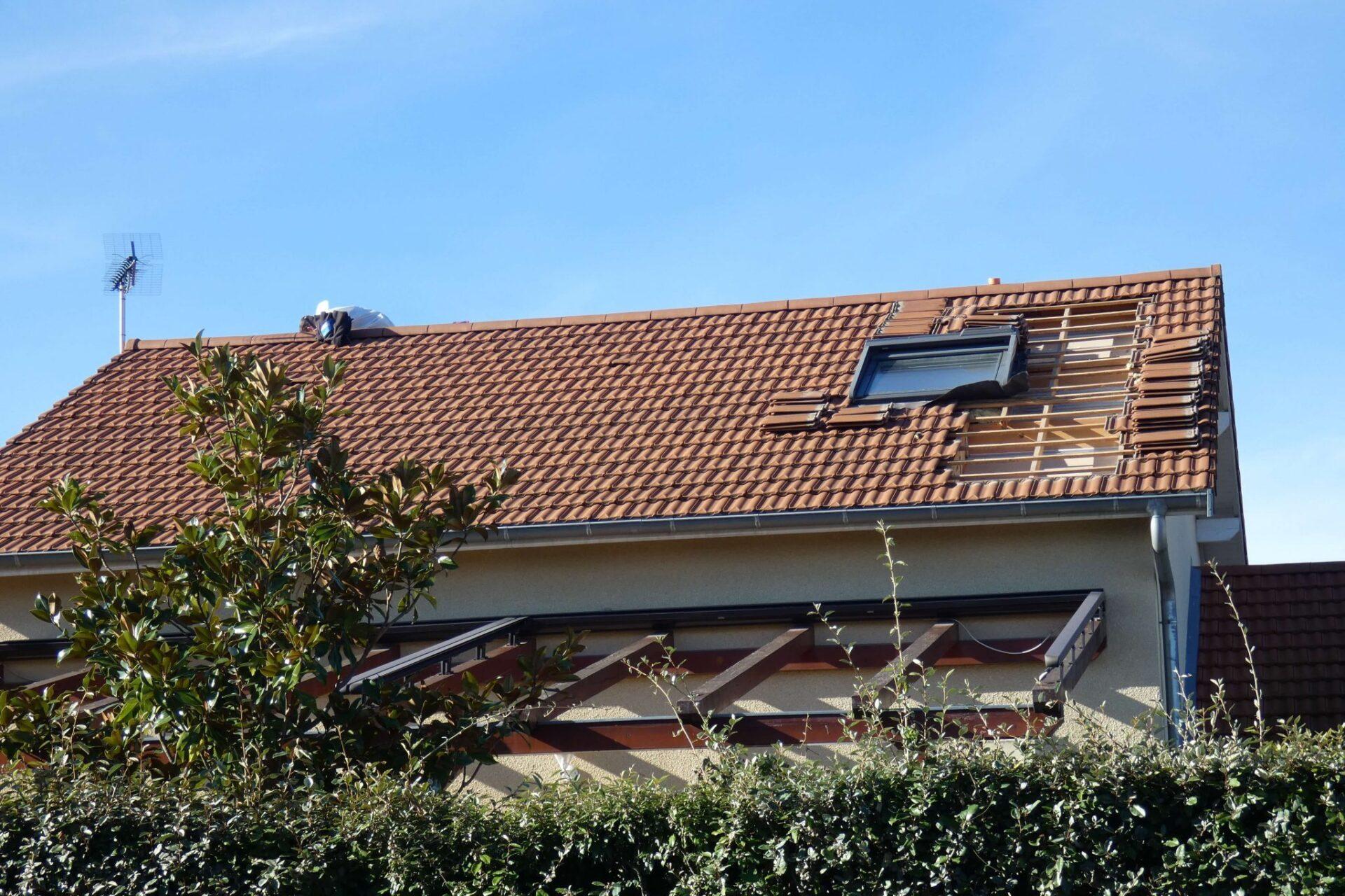 CA1Ouverture du toit - Combles aménagés